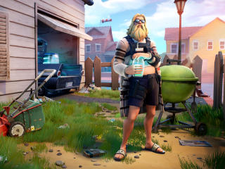Relaxed Fit Jonesy Fortnite wallpaper