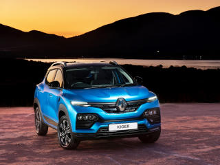 Renault Kiger 4k SUV wallpaper
