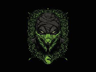 Reptile Mortal Kombat Minimal wallpaper
