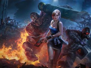 Resident Evil 2020 wallpaper