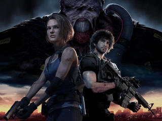 Resident Evil 3 Remake Characters wallpaper
