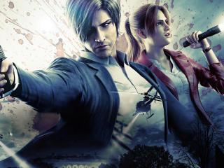 Resident Evil Infinite Darkness 4k wallpaper