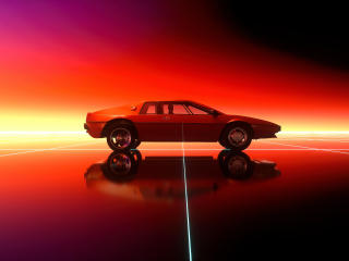 Retro Car Art wallpaper