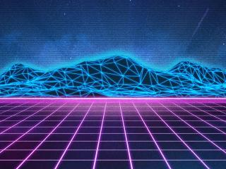 Retro Wave wallpaper