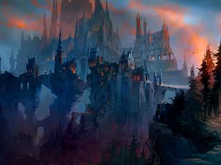 Revendreth WoW Shadowlands wallpaper