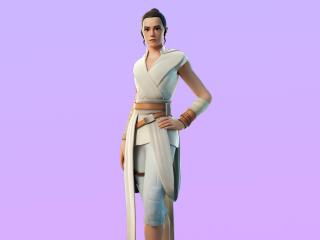 Rey Fortnite 4K Skin wallpaper