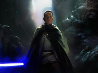 Rey Star Wars Artwork wallpaper