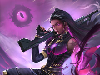 Reyna New Art Valorant wallpaper