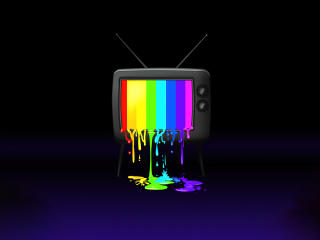 RGB Tv Colorful wallpaper