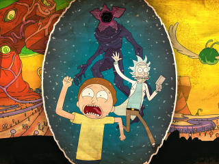 HD Wallpaper | Background Image Rick And Morty 2017