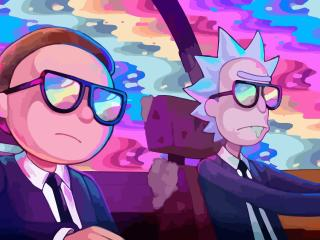 Rick and Morty Oh Mama Run The Jewels wallpaper
