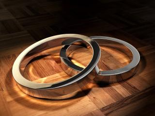 rings, form, couple wallpaper