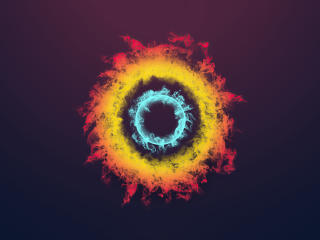 Rings of Ice and Fire wallpaper
