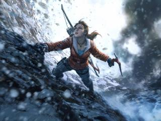 Rise of the Tomb Raider 10K wallpaper