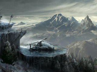 rise of the, tomb raider, lara croft wallpaper