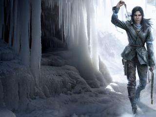 rise of the tomb raider, tomb raider, ice floes wallpaper