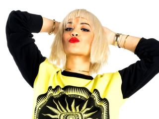 rita ora, singer, blonde wallpaper