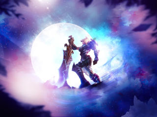 Riven League Of Legends Art wallpaper