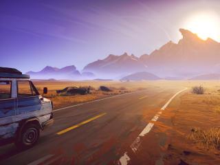 Road 96 Game wallpaper