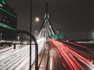road, route, bridge wallpaper