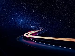 Road To Galaxy wallpaper