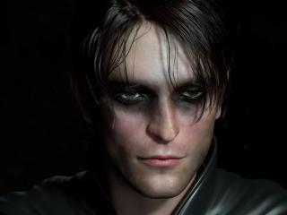 Robert Pattinson Batman Eyes wallpaper