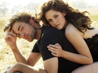 Robert Pattinson with Kristen Stewart wallpaper wallpaper