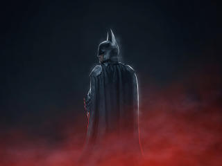 Robert The Batman Pattison Art wallpaper