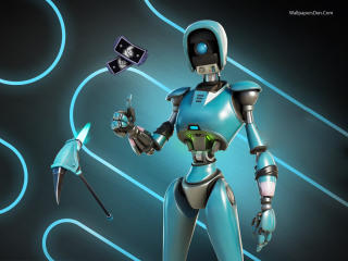 Robo-Ray Fortnite Save The World wallpaper
