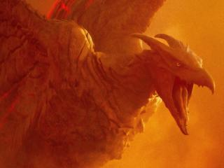 Rodan Godzilla King of the Monsters Movie wallpaper