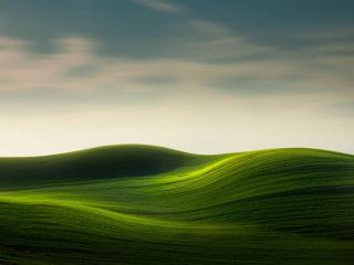 Rolling Green Hills wallpaper