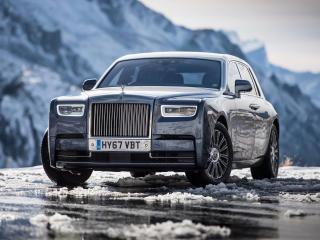 HD Wallpaper | Background Image Rolls Royce Phantom Uk 2017