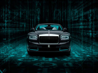 Rolls Royce Wraith Kryptos wallpaper