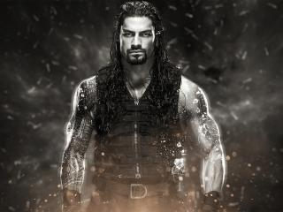 Roman Reigns Monochrome wallpaper