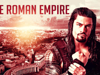 Roman Reigns - The Roman Empire wallpaper