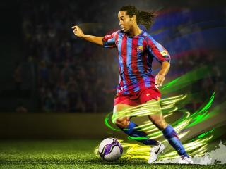 Ronaldinho In eFootball Pro Evolution Soccer 2020 wallpaper