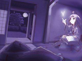 room, book, read wallpaper
