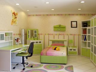 room, style, children wallpaper