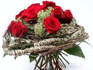 roses, flowers, bouquet wallpaper