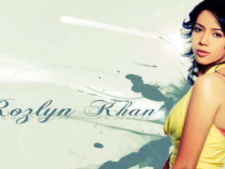 Rozlyn Khan Glamorous HD Wallpaper wallpaper