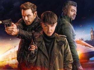 Ruby Rose SAS Red Notice Netflix Movie wallpaper