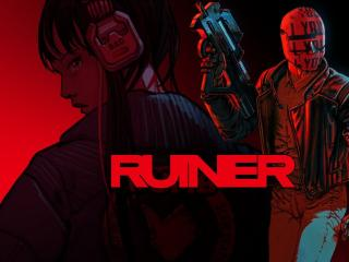 Ruiner Game Poster wallpaper