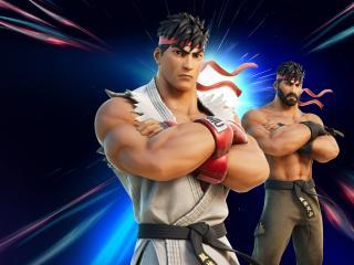 Ryu Fortnite Skin wallpaper