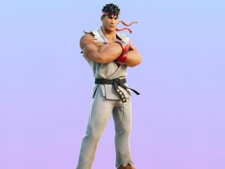 Ryu Outfit Skin Fortnite wallpaper