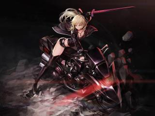 Saber Alter Fate wallpaper