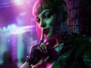 Sabine Brandt Watch Dogs Legion wallpaper