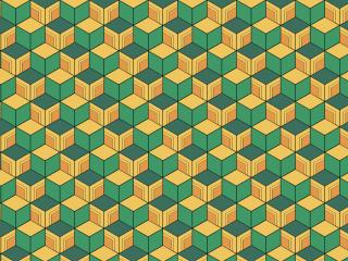 Sabito's Haori (Kimetsu no Yaiba) Pattern wallpaper