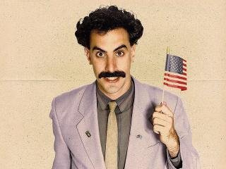 Sacha Baron Cohen as Borat Sagdiyev wallpaper