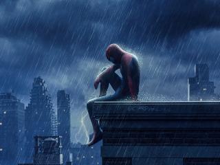 Sad Spider-Man No Way Home 4k wallpaper