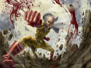 Saitama Cool One Punch Man wallpaper